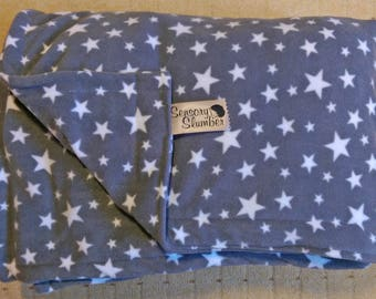UK Weighted Blankets and Lap Pads - Starry Fleece 1kg to 7kg Free Shipping Autism ADHD