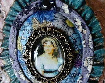 Jane Austen's collection, brooch ,model Sense and Sensibility