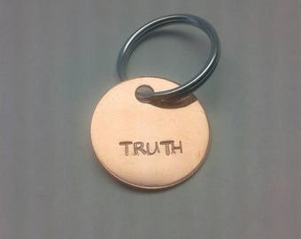 Truth key chain