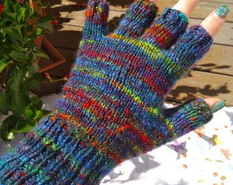 Ladies' Handknitted Fingerless Gloves