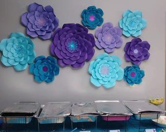 Paper flower home/wall decor