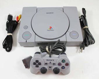 sony playstation 1. sony playstation 1 ps1 gray console (scph-7501) fast shipping playstation