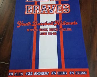 Custom Beach Towel Design / Design for Towel / Swim and Dive Team towels /Swim Team Towels / Swim Club Towels