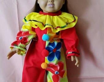 18 in Doll Clown Costume