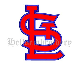 SALE**Saint Louis Cadinals Baseball 6 Size Embroidery Designs Major Baseball Logos Machine Embroidery Pattern