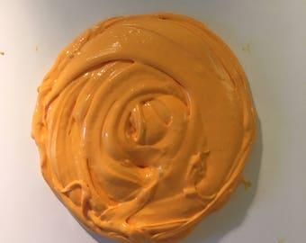 Orange juice butter slime