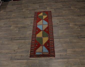 Stunning Design Runner Original Ghoochan Persia Area Rug Oriental Carpet 2ʹ2X6ʹ6