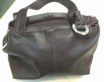 Daniella Lehavi dark brown leather handbag