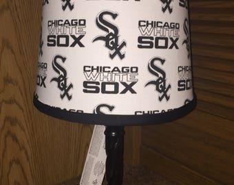 Chicago White Sox lamp.