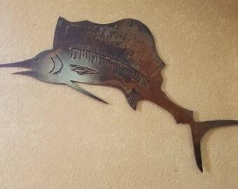 Mini rustic sailfish
