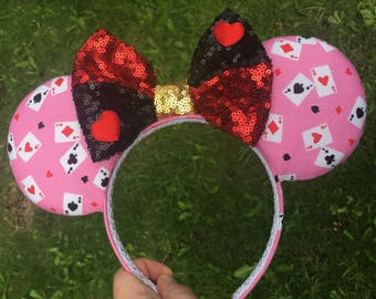 Queen of hearts ears