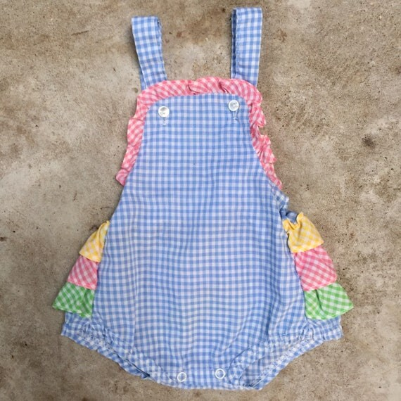 vintage infant sunsuit - 0-6 months