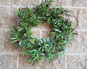 ESE Olive & Seeds Wreath, 24""