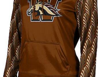 ProSphere Girls' Western Michigan University Deco Pullover Hoodie (WMU)