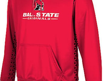 ProSphere Boys' Ball State University Geometric Pullover Hoodie (BSU)