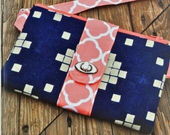 Butterfly Sling Purse, Emmaline Bags, Crossbody, Clutch, Wallet, Sewing Pattern, Printed Pattern, Bag