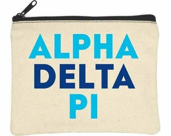 ALPHA DELTA PI Bittie Bag