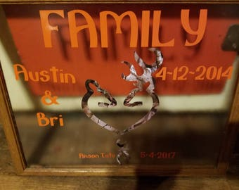 Family Floating Frame