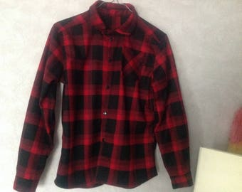 Warm shirt for winter from 2 to 16 years