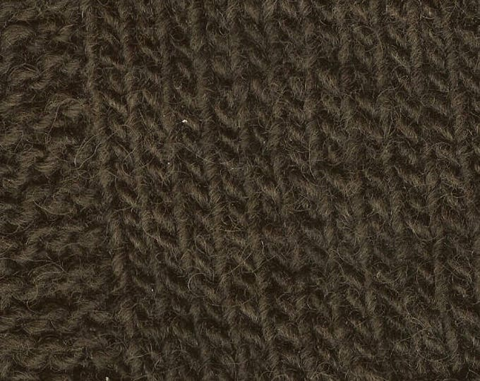 LOGWOOD 2 ply worsted weight wool kettle dyed yarn from our USA farm