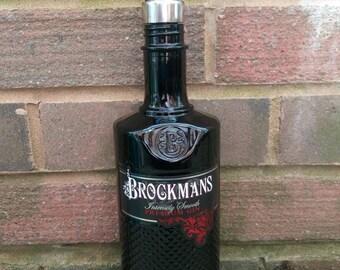 Brockmans gin bottle soap dispenser.