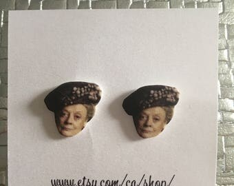 Downton Abbey Dowager Countess Earrings