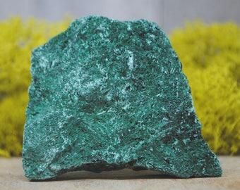 Fibrous Green Malachite Crystal Specimen   - 1234.73