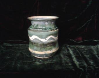 Studio Pottery Vase 1970s