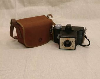 Vintage Coronet 4 X 4 Bakelite Camera, made in England