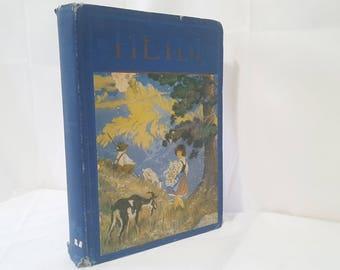 ON SALE, Heidi, A Story for Children and Those Who Love Children, Johanna Spyri, Heidi Copyright 1921, Heidi Book, Antique Book, Vintage