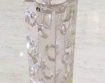 Glass Candle Holder PUKEBERG Sweden UNO WESTERBERG