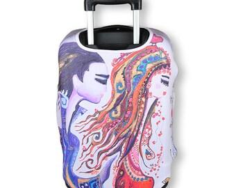 BiggDesign Love Luggage Cover