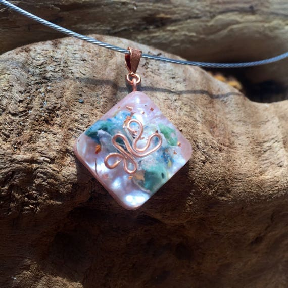 Stardust Orgone Energy Necklace- wealth and Manifestation Energy Generator