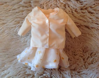American Girl dress and coat, fits 18 inch dolls
