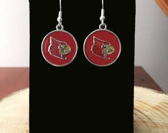 Louisville Cardinals Earrings