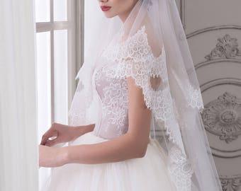Handmade Wedding Veil ''Grace''