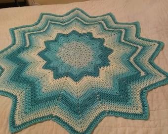 Starburst Baby or Lap Blanket