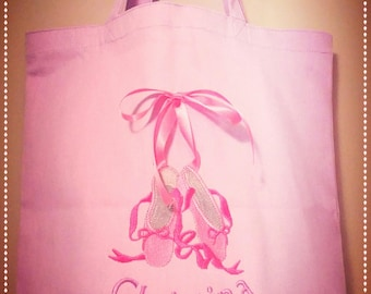 Ballet Shoe Tote Personalized Gift