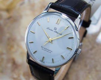 Seiko Marvel 1950s Manual Stainless Steel Mens Vintage Japanese Dress Watch Q47