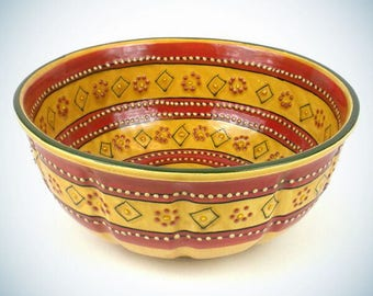 Large Bowl - Red