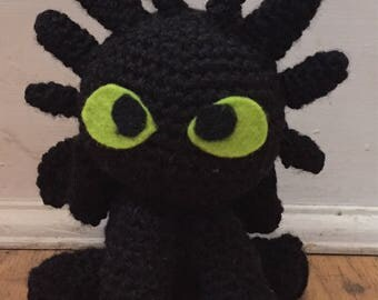 Mini Toothless from HTTYD