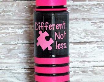 Autism Awareness SPORTS BOTTLE Flip Top BPA Free 25 oz