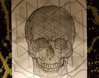 Yantra Skull