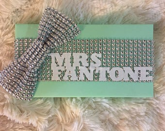 Custom made Gift Wrap Tag/Favor/Gift Tags - Bacherlorettes, Wedding Showers, Weddings, Birthdays, Baby Showers, Holiday