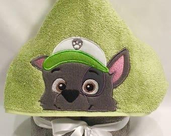 Rocky Hooded Towel