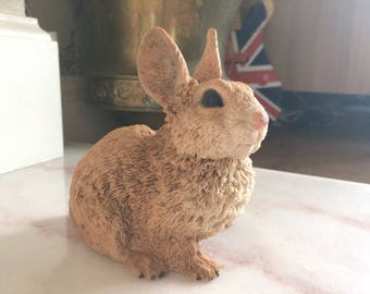 Cute bunny figurine with lovely detail