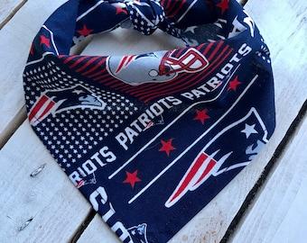 New England Patriots Bandana - Patriots Bandana - NFL Football Team Fashion Bandana