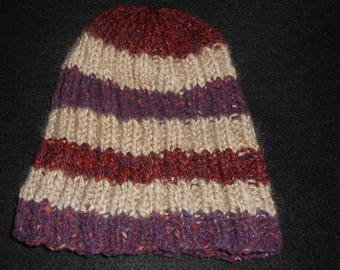 Beanie hat fits many head sizes