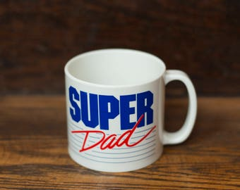 Super Dad Plastic Mug