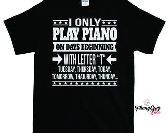 Piano T shirt   Pianist T shirt   Pianist Gift   Piano Lover Gift   Piano Teacher Gift   Best Pianist Tee   Birthday Gift   Musician Gift